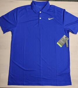 Nike Dry Golf Funktions-Polo-Shirt blau/violett M