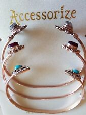 Accessorize 3 x  Friendship Bracelets x3 Gold-Tone New