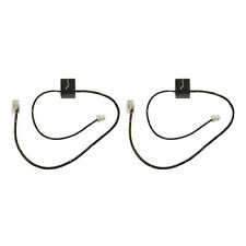 Plantronics Telephone Interface Cable  (2-Pack) for Savi CS500 Wireless Headsets