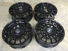 "18"" Alloy Wheels Calibre T Sport Ford Transit Custom Transit Gloss Black"