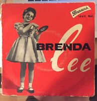 BRENDA LEE - ROCK THE BOP - FRENCH FRANCE 45 TOUR - BRUNSWICK 10 611 - (1958)