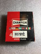 N579YC Champion Spark Plugs - Box of 4 - NEW Old Stock NOS - RACING RARE