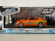 GREENLIGHT - TOYOTA - SUPRA MKIV CABRIOLET 1995 fast & furious 1.43 scale