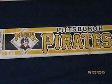 Base Ball  decals  bumper stickers  or decals10 pack Pirates