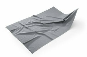 Mikrofaser Spezialtuch grau für Glas  trocknen,reinigen, polieren , 50 x 70 cm