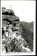 postcard AUSTRALIA Victoria Reed's lookout Mt Victory Grampians