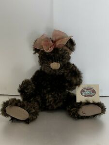"Ganz"" Lexi"" Bear Cottage Collectibles 1st Edition 2400 Pcs Only Sue Coe 2000"