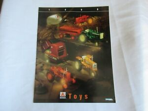 ERTL AGCO toy catalog brochure Oliver 77 Minneapolis Moline G550 Allis Chalmers