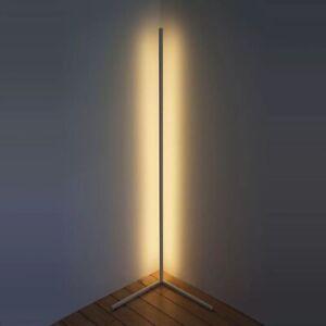 Modern Minimalist LED Corner Floor Lamp -  White/Warm White - Mood Lighting