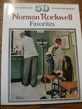 Norman Rockwell Favorites Large Poster Size 50 Suitable For Framing