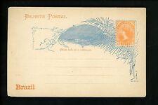 Postal Stationery H&G #14b Brazil postal card 1890/1891 Vintage