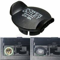 Power 12V Socket Lighter Cigarette Outlet Cover Cap For Ford Focus Fiesta  -