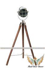 VINTAGE 1940s FILM STUDIO SPOT LIGHT MOVIE INDUSTRIAL ANTIQUE FLOOR LAMP THEATRE