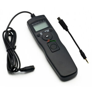 LCD Timer Remote Shutter release for Sony A7s A7 A7R II RX100III A6500 A6300 A58