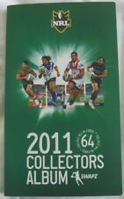 NRL 2011 Collectors Album with 128 cards, National Rugby League Australia