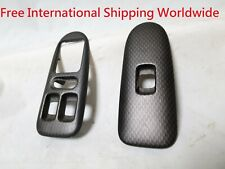 Car & Truck Parts Genuine JDM OEM for Honda Integra DB8 Carbon Window Switch Cover ITR 4 doors