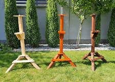 Vogelhausständer, stabil aus Massivholz,mehrzweck Ständer,Holzständer Futterhaus