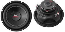 """2) Pyle PLPW10D 10"""" 2000W Car Subwoofer Audio Power Subs Woofers DVC 4 Ohm Black"""