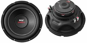"Pyle PLPW10D 10"" 2000W Car Subwoofer Audio Power Subs Woofers DVC 4 Ohm, 2 Pack"