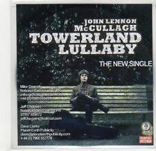 (GF644) John Lennon McCullagh, Towerland Lullaby - 2014 DJ CD