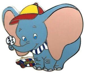 2008 Disney Baseball Diamond Mystery Dumbo LE-900 Pin Rare