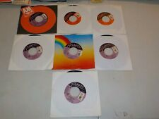 "INXS Lot of 7 Vinyl 45 Records w/ ""Guns In The Sky"" ""New Sensation"" RE3118"