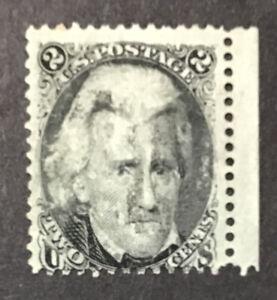 US 1863 F Used Sc#73 2c Blackjack  (W12)
