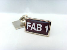 THUNDERBIRDS FAB 1 CAR NUMBER PLATE LAPEL PIN BADGE TIE PIN GIFT