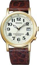 kb10 Citizen Watch Reguno Solar Tech Radio Clock Classic KL3-021-30 Mens New