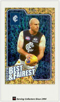 2010 AFL Herald Sun Trading Cards Best & Fairest BF3 Chris Judd (Carlton)