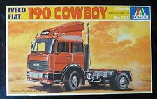 Italeri 767 Iveco Fiat 190 Cowboy Model Truck Kit 1/24 Scale