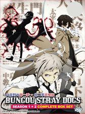 DVD Bungou Stray Dogs Season 1 + 2 ( Vol. 1-24 End ) English SUB