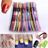 Nail Rolls Striping Tape Line DIY Nail Art Tips Decoration Sticker Nails 30 pcs