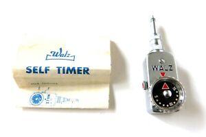 Vintage Walz Self Timer For Rangefinder Camera With Case Works Japan