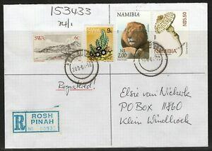Namibia Cover - Rosh Pina 18.01.2000 old datestamp