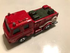 Tomica #22 UD Condor Chemical Fire Engine Made in Japan LOOSE