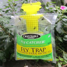 """1 Pack Outdoor Disposable Fly Trap / Catcher Station - Hanging Style 12""""X8"""" ♫"""