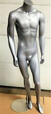 5 ft 8 in Headless Male Mannequin Magnetic Arms New See Video