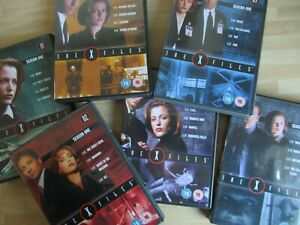 X-FILES - (The TV Popular Series) 6 DVDs of the first 24 Episodes