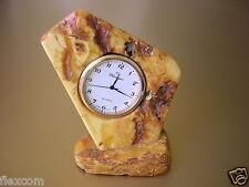 Tolle Natur Bernstein Uhr Butterscotch 57,4 g / 8,0 x 7,2 cm Genuine Amber