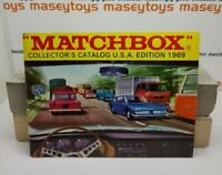 MATCHBOX LESNEY 1969 Collector's Catalogue USA version near MINT First Edition c