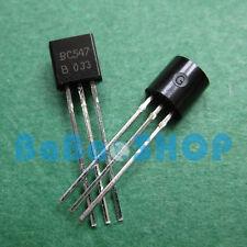 50pairs ( BC557B + BC547B ) PNP NPN Transistor 45V 0.1A NXP TO-92