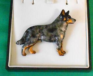Fantastic Dog Show Breed Jewellery Brooch -  Australian Cattle Dog