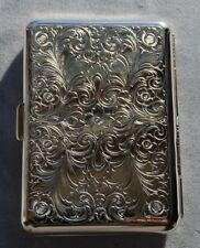 Hansaware Paris Slim Pocket Cigarette Case Made in Germany 843/N 82