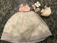 Vintage Pepper Doll Clothes.  Flower Girl