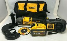 """DeWALT DCG418X1 FlexVolt 60V MAX 4-1/2 - 6"""" Cordless Brushless Angle Grinder GR"""