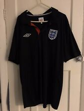 England T-Shirt Black XL