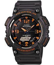 Casio Men's Sport AQS810W-8AV Grey Rubber Quartz Watch with Black Dial
