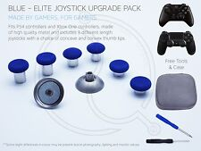 Bleu PS4 XBOX ONE ELITE Joystick Upgrade Custom Concave Convexe Manette de télécommande mod