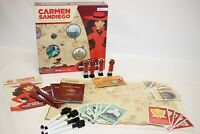 Carmen Sandiego Catch Vile And Return The Loot Board Game